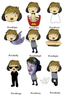 Lol ERMAHGERD PEWDIEFRY AND PEWDIEFLY = PEWDIEFLYFRY!