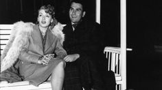 Lana Turner and Artie Shaw on their honeymoon at the Racquet Club of Palm Springs. (Palm Springs Historical Society)