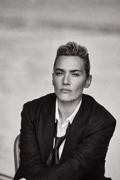 Kate Winslet Gets Androgynous On the Cover Of Italian Men's Vogue
