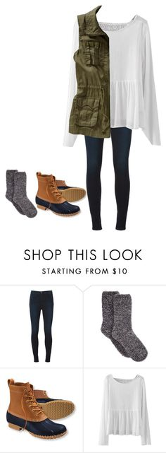 """Read D please"" by brynnagrace24 ❤ liked on Polyvore featuring J Brand, Charter Club, L.L.Bean and Old Navy"