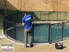 Get your backyard summer ready today with a safe and stylish Protect-a-Child pool fence!