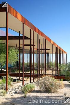 Architecture of Desert Broom Phoneix Libarary by Richärd + Bauer on Pixelmap