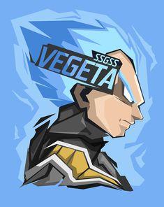 Vegeta Head