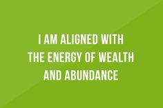 10 Money Affirmation