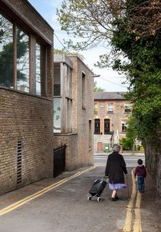 Ranelagh Multi-Denominational School by O'Donnell and Tuomey Architecture Portfolio, Architecture Details, Brick Detail, Black Brick, Brick Facade, Social Housing, Building Exterior, O Donnell, Brickwork