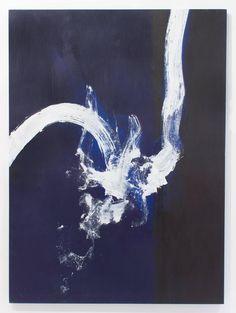 Cleve Gray. Clash 14, 2001. Acrylic.
