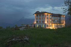 Boutique hotel in Switzerland with views across Lake Lucerne