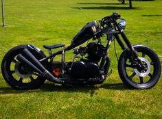 1978 Yamaha XS750SE Chopper/Bobber One-Off Custom.  Currently being auctioned on eBay with the starting bid £2,000.    http://www.ebay.co.uk/itm/161779527706?clk_rvr_id=876673744673&rmvSB=true