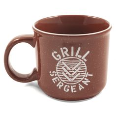 Grill Sergeant Stripe Camp Mug at Life Is Good - $9.99