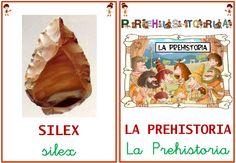 libro-vocabulario-prehistoria by arantxacolecamarma via Slideshare Social Science, Montessori, Projects For Kids, History, Crafts, Food, Irene, Stone Age, Printables