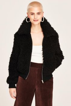 Savanna faux fur jacket