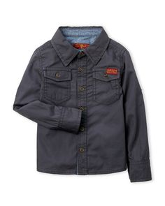 7 For All Mankind (Toddler Boys) Two-Pocket Shirt