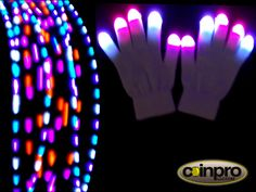 TRIPPY HIPPY LED GLOVE SET The Trippy Hippy finger light glove set is a great set to start out with. Each finger uses our Micromax lights and 1