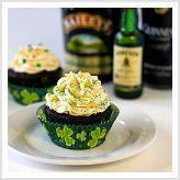 Irish car bomb cupcakes. yes please!