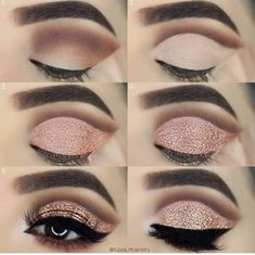 33 Eye Makeup Tutorials To Take Your Beauty To The Next Level - Make up - Makeup Goals, Love Makeup, Makeup Inspo, Makeup Inspiration, Makeup Tips, Beauty Makeup, Daily Inspiration, Makeup Tutorials, Cheap Makeup
