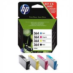 HP 364 MULTI PACK ORIGINAL 4 Pack  Say it best with Original HP inkjet Print .With HP you get reliable performance time after time. No matter what.Only original HP supplies offer the best quality, reliability and trouble-free printing.  Only original HP supplies offer the best quality, reliability and trouble-free printing Inkjet Printer, Magenta, Packing, Printing, The Originals, Yellow, Free, Black, Bag Packaging