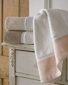 Porto Towels by Kassatex at Horchow, hand towel, in pink