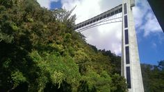 Observation deck in Bayamon, Puerto Rico