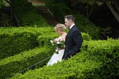 Albemarle Estate at Trump Winery Wedding | Bride and Groom Portraits