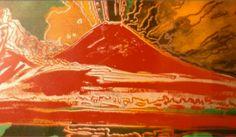 #Napoli per #Warhol era il #Vesuvio. Ci fate vedere il vostro paesaggio più #pop con #AndyGoesToPisa? #AndyWarhol #popart #Pisa