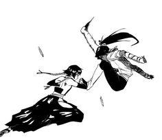 Soi Fon & Yoruichi