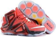 ddc075bfd7dfd6 Lebron 12 P.S Elite Red Black White Grey Shoes Kobe 10 Shoes
