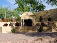 Arizona Backyard Landscaping | Kantara and Cultured Stones | Central Arizona Landscape Managment