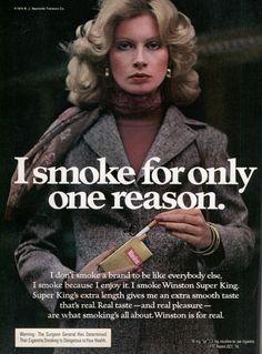 I smoke for only one reason. | Modern Mechanix (Because I'm addicted to nicotine.)