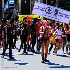 MONTREAL GAY PRIDE PARADE 2013 (LEATHER+FETISH)
