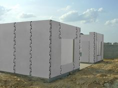C-SIP System is the future of air tight building envelopes with its multi-functional capabilities that optimize performance for residential and commercial, new construction or remodeling. White Wall Paneling, White Walls, Dream Home Design, House Design, Accent Wall Panels, Sips Panels, Structural Insulated Panels, White Wall Decor, Building Systems