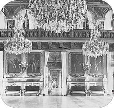 Category:Interior of the Palais des Tuileries Palais Des Tuileries, Grey Wallpaper Iphone, French History, Old Paris, Second Empire, Le Palais, Vestibule, Belle Epoque, Pretty Pictures