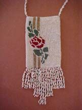 Ribbons and Roses Amulet Bag by Theresa Buchle Designs