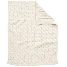 """Koala Baby Chunky Cable Knit Blanket - Cream - Koala Baby - Babies """"R"""" Us"""