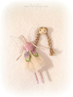 Fairy doll tutorial on blog http://verityhope.blogspot.co.uk
