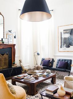 Layer your living room with lighting