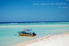 Sandy #Beach #Barbados - perfect piece of simplicity