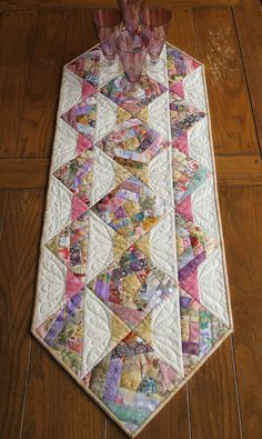 crazy quilts | time 1 day class options table runner or crazy quilt
