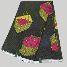 LSCW-2 African Print Fabric/ Ankara/Dutch Wax /Batiki Super Holland Wax Prints…