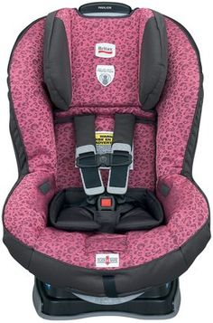 Britax Pavilion Convertible Car Seat G4 - Cub Pink.  Pink leopard! Yes please!
