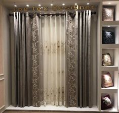 Art Deco Curtains, Vintage Curtains, Drapes Curtains, Valances, Curtain Designs For Bedroom, Drapery Designs, Elegant Curtains, Colorful Curtains, Living Room Sets