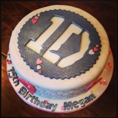 Girly One Direction Cake
