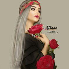 Image in Art ✨ ✨ collection by princess Rose Beautiful Girl Drawing, Cute Girl Drawing, Drawing Girls, Sarra Art, Girly M, Cute Girl Wallpaper, Cartoon Wallpaper, Cute Couple Art, Princess Drawings