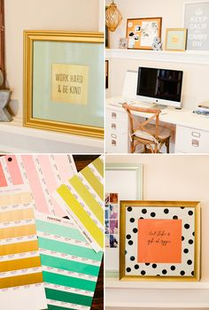 A little daily inspiration...styled quotes - gorgeous, and so simple!