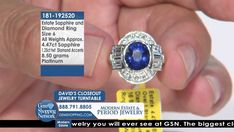Tune into the most exquisite jewelry on television 24/7! New jewelry arriving daily – Blue Sapphire Necklaces, Red Ruby Rings, Green Emerald Earrings, Yellow Diamond Bracelets and more stunning jewelry at Gem Shopping Network. Call in for pricing. Item #181-192520