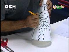Fazendo Arte - Cone de Natal com Patch Embutido (26.11.2013) - YouTube