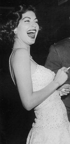 Ava Gardner later years had Emphysema from her years of smoking.