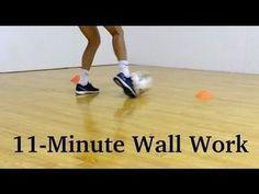 6 Soccer Fast-Footwork Wall Drills | YFutbol - YouTube #socceressentials