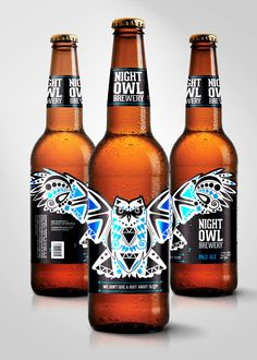 Night Owl Brewery on Packaging Design Served