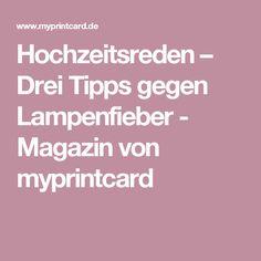 Hochzeitsreden – Drei Tipps gegen Lampenfieber - Magazin von myprintcard