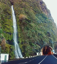 #Madeira has lots of waterfalls and lots of tunnels. And sometimes you'll find both at the same time. #Portugal